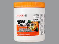 Major Fiber Therapy Powder, Orange Flavor - 16 oz