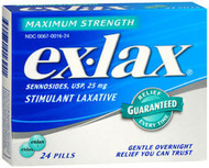 Ex-Lax Pills Maximum Strength - 24 ct