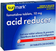 Sunmark Acid Reducer 10 mg Tablets - 30 ct