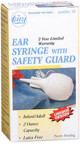 Cara Ear Syringe With Safety Guard - 1 ct
