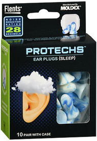Flents Protechs Ear Plugs Sleep - 10 Pair