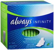 Always Infinity Flexi-Wings Pads Heavy Flow - 16 ct