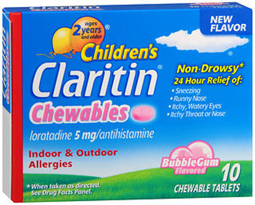 Claritin Children S 24 Hour Allergy Chewable Tablets