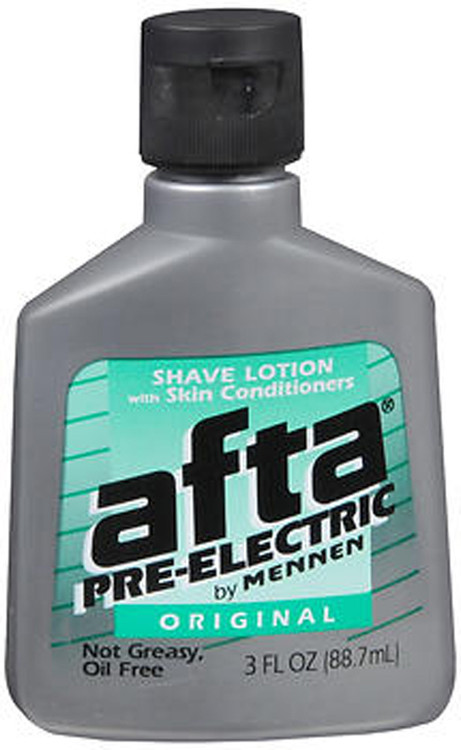 Afta By Mennen Pre Electric Shave Lotion Original 3 Oz The