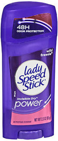 Lady Speed Stick Invisible Solid Wild Freesia - 2.3 oz