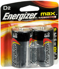 Energizer MAX Alkaline Batteries D - 2 pk