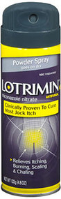 Lotrimin Anti-Fungal Powder Spray, Jock Itch - 4.6 oz