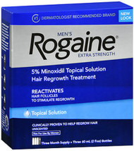 Rogaine Men's Extra Strength Hair Regrowth Treatment - 6 OZ 3-month supply