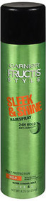 Garnier Fructis Style Sleek & Shine Anti-Humidity Hairspray Ultra Strong - 8.25 oz