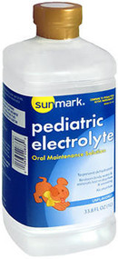 Sunmark Pediatric Electrolyte Oral Maintenance Solution Unflavored - 33.8 oz