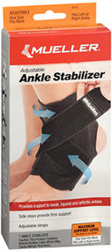 Mueller Adjustable Ankle Stabilizer One Size #6518 - 1 ea.