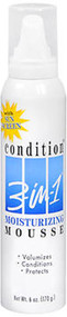 Condition 3-In-1 Moisturizing Mousse - 6 oz