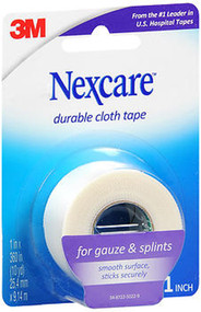 """Nexcare Durable Cloth Tape 1"""" X 10 Yards - Each"""