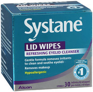 Systane Lid Wipes Eyelid Cleansing Wipes - 30 ct