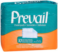 Prevail Extra Large Underpads 30 X 36 Inches - 4 pks of 10