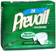 Prevail Briefs, 2XL - 4 Packs of 12