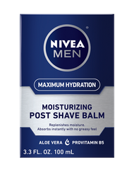 Nivea Men  Maximum Hydration Moisturizing Post Shave Balm - 3.3 oz