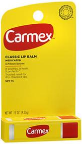 Carmex Lip Balm SPF 15 Original - 12 ct