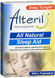 Alteril All Natural Sleep Aid Tablets Maximum Strength - 30 ct