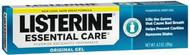 Listerine Essential Care Toothpaste Gel, Original Powerful Mint - 4.2 oz