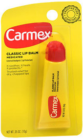 Carmex Tube EZ-On Applicator .35 oz tubes - 12 ct