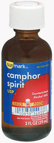Sunmark Camphor Spirit USP - 2oz