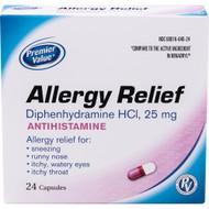 Premier Value Complete Allergy Capsules - 24 ct