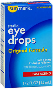 Sunmark Eye Drops Original Formula - 0.5 oz