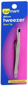 Sunmark Deluxe Tweezer Slant Tip - 1 ea.