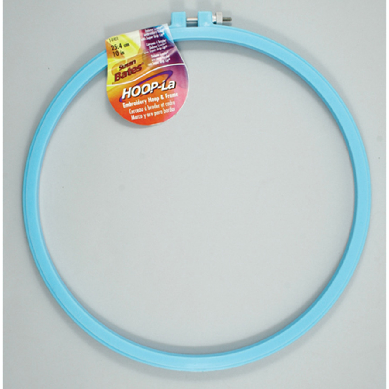 """Luxite Embroidery Hoop, Assorted, 10"""""""