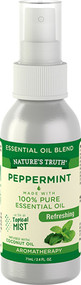 Nature's Truth Peppermint Refreshing On the Go Hydrating Mist - 2.4 oz