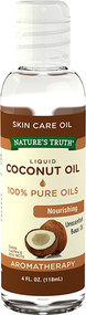 Nature's Truth Liquid Coconut Oil Unscented - 4 oz