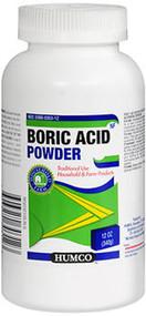 Humco Boric Acid Powder - 12 oz