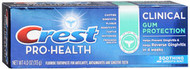 Crest Pro-Health Toothpaste Clinical Gum Protection Smooth Mint - 3.5 oz
