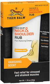 Tiger Balm Neck & Shoulder Rub Pain Relieving Cream - 1.76 oz