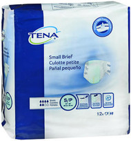 Tena Briefs Small 22 36 Inches - 8 Packs of 96
