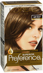 L'Oreal Superior Preference - 6A Light Ash Brown (Cooler)