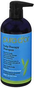 Pura D'or Scalp Therapy Shampoo - 16 oz