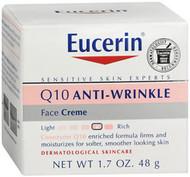 Eucerin Q10 Anti-Wrinkle Sensitive Skin Creme - 1.7 oz