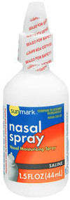 Sunmark Nasal Spray Saline - 1.5 oz