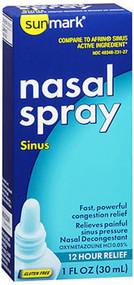 Sunmark Nasal Spray Sinus - 1 oz