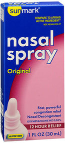 Sunmark Nasal Spray Original - 1 oz