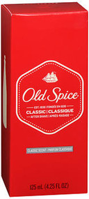 Old Spice Classic After Shave Classic Scent - 4.25 oz