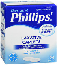Phillips' Laxative Caplets, 24 ea.
