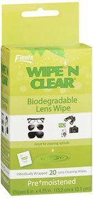 Wipe'N Clear Lens Wipes- 20 ea.