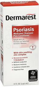 Dermarest Psoriasis Medicated Shampoo Plus Conditioner - 8 oz