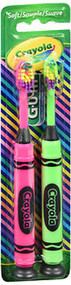 GUM Crayola Toothbrushes Soft - 2 ct