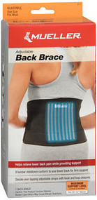 Mueller Sport Care Adjustable Back Brace One Size - Each