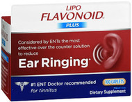 Lipo-Flavonoid Plus Inner Ear Health Dietary Supplement - 100 Caplets