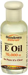Sundown Naturals Vitamin E Oil 70,000 IU - 2.5 oz